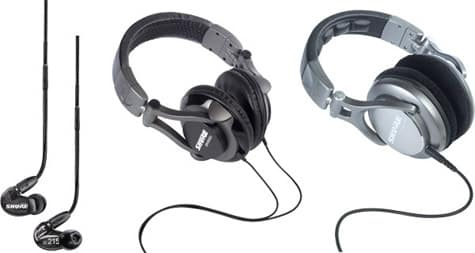 Shure outs new earphone, headphones at NAMM 2011