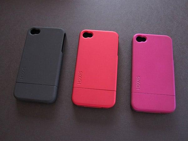 First Look: Skech Hard Rubber, Rise, Custom Jacket + Custom Jacket Flip for iPhone 4