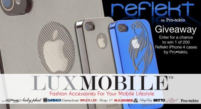 LuxMobile Reflekt Giveaway – Winners Announced