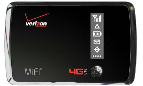 Verizon Wireless 4G LTE Mobile Hotspot MiFi 4510L