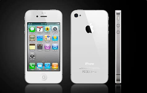 Bloomberg: White iPhone 4 coming by 'end of April'
