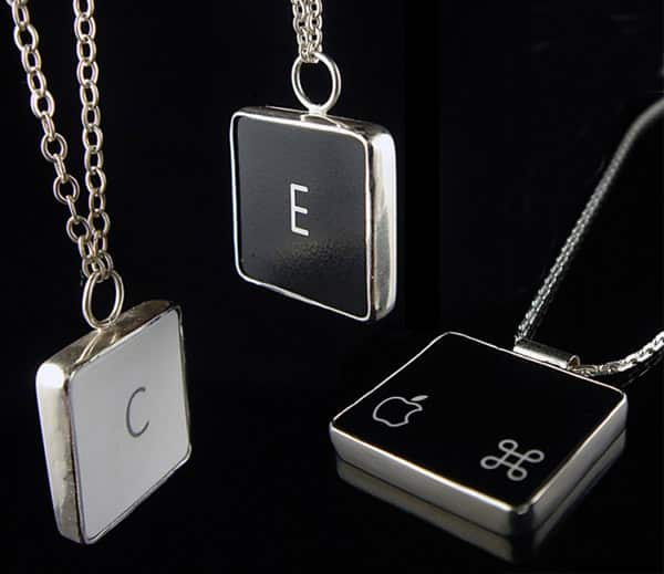 Creative Dexterity Mac Keyboard Jewelry