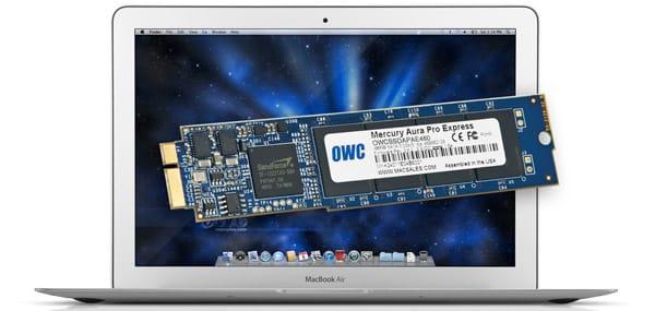OWC Mercury Aura Pro Express SSD for MacBook Air