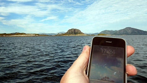 Photo of the Week: iPhone 3GS in Norway