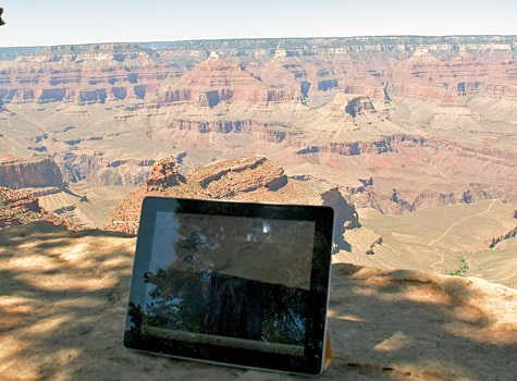 Photo of the Week: iPad 2 in Arizona
