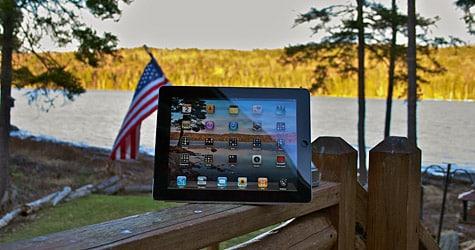 Photo of the Week: iPad 2 in Maine
