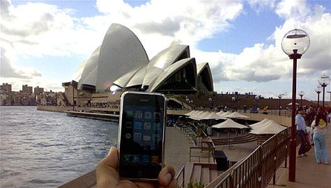 Photo of the Week: iPhone in Australia