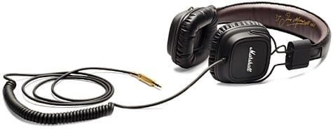 Marshall updates Major headphones with remote, mic