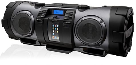 JVC intros updated Kaboom! boombox for iPod, iPhone