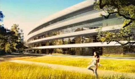 Apple CEO Steve Jobs outlines plans for new HQ
