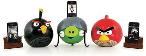 Gear4 to launch Angry Birds speakers for iPod, iPhone, iPad