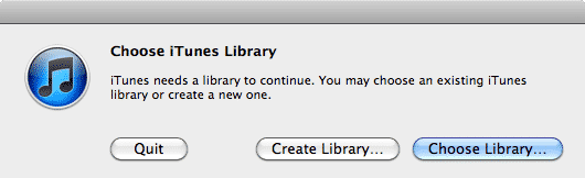 Sharing multiple iTunes libraries on one computer