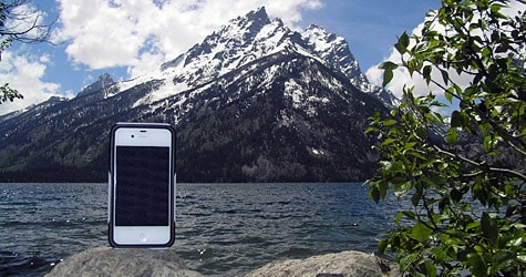 Photo of the Week: iPhone 4 in Wyoming