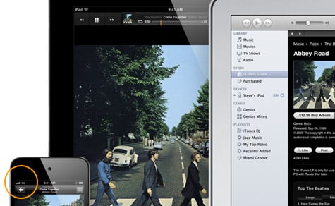 3G-enabled iPod touch graphic found on Apple's website