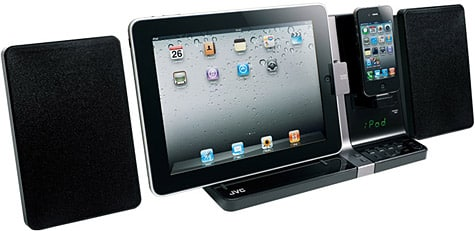 JVC ships UX-VJ3B system for iPad, iPhone, iPod