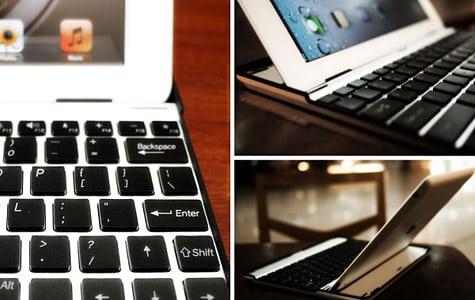M.I.C. offers Aluminum Keyboard Buddy case for iPad 2