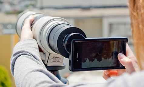 Photojojo unveils iPhone SLR Mount