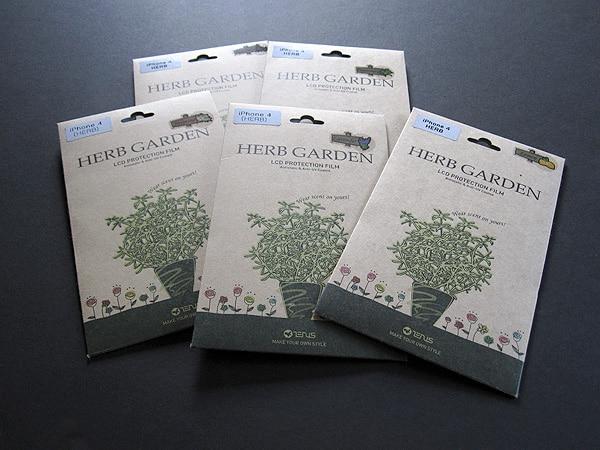 First Look: Zenus Herb Garden Screen Protection Film for iPhone 4