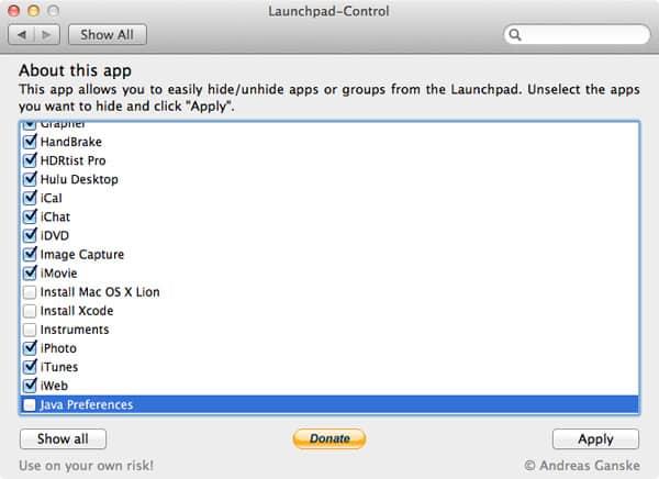 Andreas Ganske Launchpad-Control