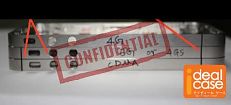 Claimed iPhone '4S' antenna band emerges