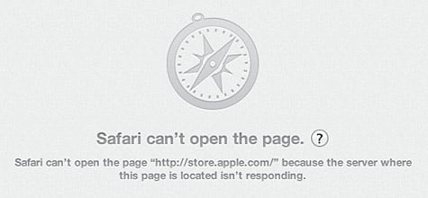 Apple's online stores hit with extended outage