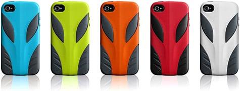 Coolous previews Alien cases for iPhone 4