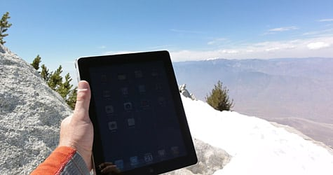 Photo of the Week: iPad 2 in California