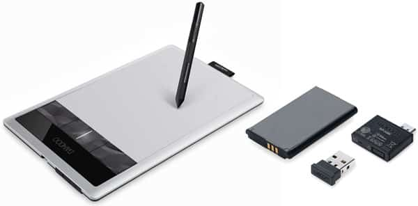 Wacom Bamboo Capture + Wireless Accessory Kit