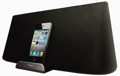 Sony debuts new RDP-X500iP iPad speaker dock