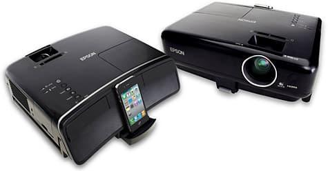 Epson debuts MegaPlex projectors for iPhone, iPad, iPod