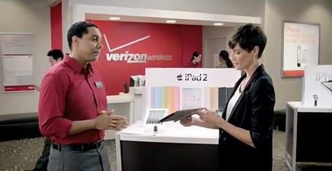 Verizon airs new ad for iPad 2