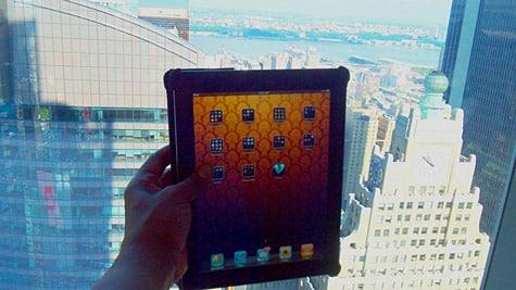 Photo of the Week: iPad in NYC