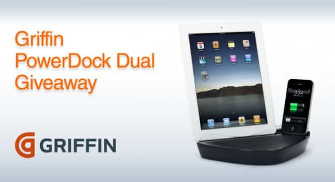 Griffin PowerDock Dual Giveaway – Winners Annouced