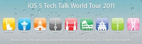 Apple announces iOS 5 Tech Talk Word Tour