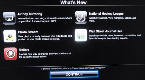 Apple TV update adds NHL, WSJ content