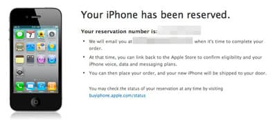Apple Store misses iPhone 4S pre-order time; Verizon accepts orders