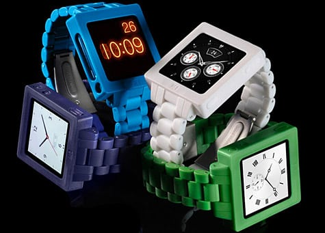Hex intros Icon Watch Band case for iPod nano 6G