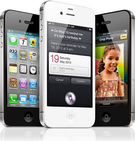 Apple unveils iPhone 4S: 8MP camera + A5 processor, coming Oct. 14