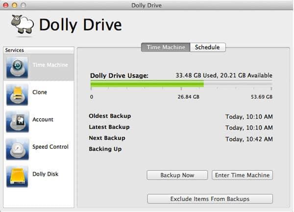 Cirrus Thinking Dolly Drive