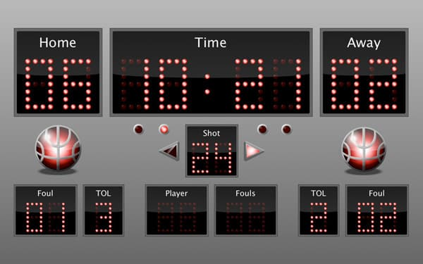 Austin Blackwood VirtuaScore Basketball