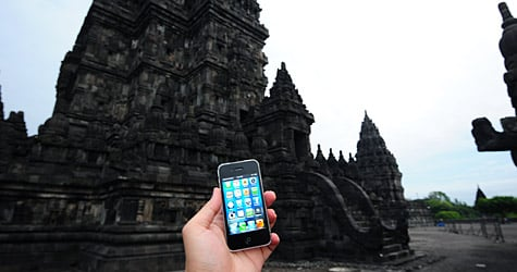 Photo of the Week: iPhone 4 in Indonesia
