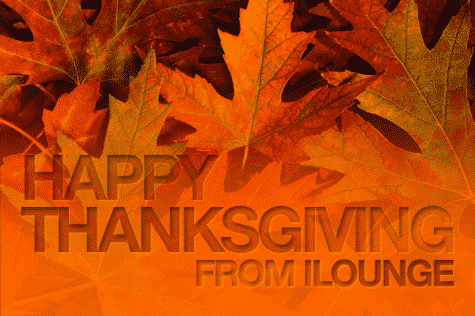 Happy Thanksgiving 2011 from iLounge!