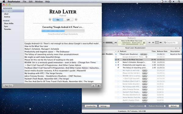 Gray Goo Labs Readomator for Instapaper