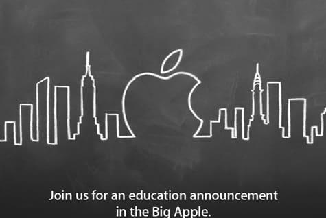 Apple slates Jan. 19 Education Event for New York City