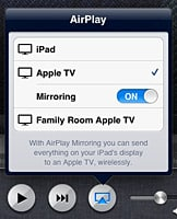Using an iOS device as an Apple TV remote camera