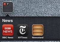 Hiding Newsstand on the iPhone or iPod touch