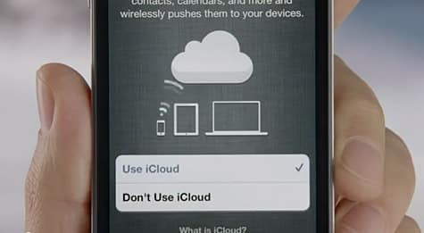 Apple airs new iPhone 4S ad 'iCloud Harmony'