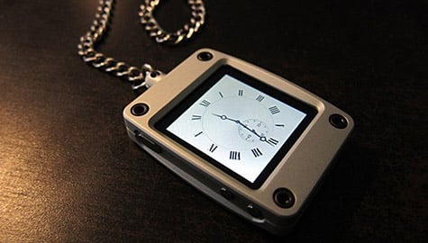 iPocketWatch offers new take on iPod nano usage