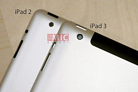 Purported iPad 3 shell shows thicker design, larger camera
