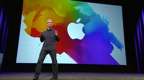 Apple posts video of iPad, Apple TV event